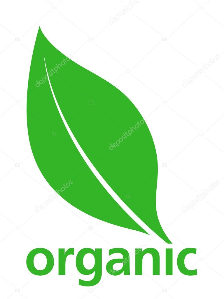 organic green leaf logo design � stock vector 169 an 76149469