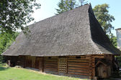 Old rural house in Carpathian region — Zdjęcie stockowe