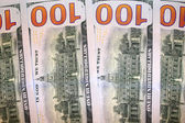 Verso des billets de cent dollars — Photo
