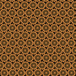 Wallpapers with round abstract brown patterns — Stock Photo #61892915