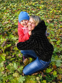 Happy and smiling mother and her child — Stock Photo