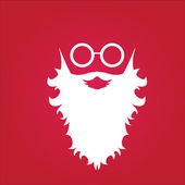 Christmas hipster poster for party or card. — Stock Vector
