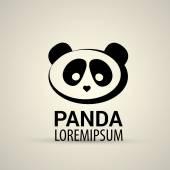 Panda icon — Stock Vector