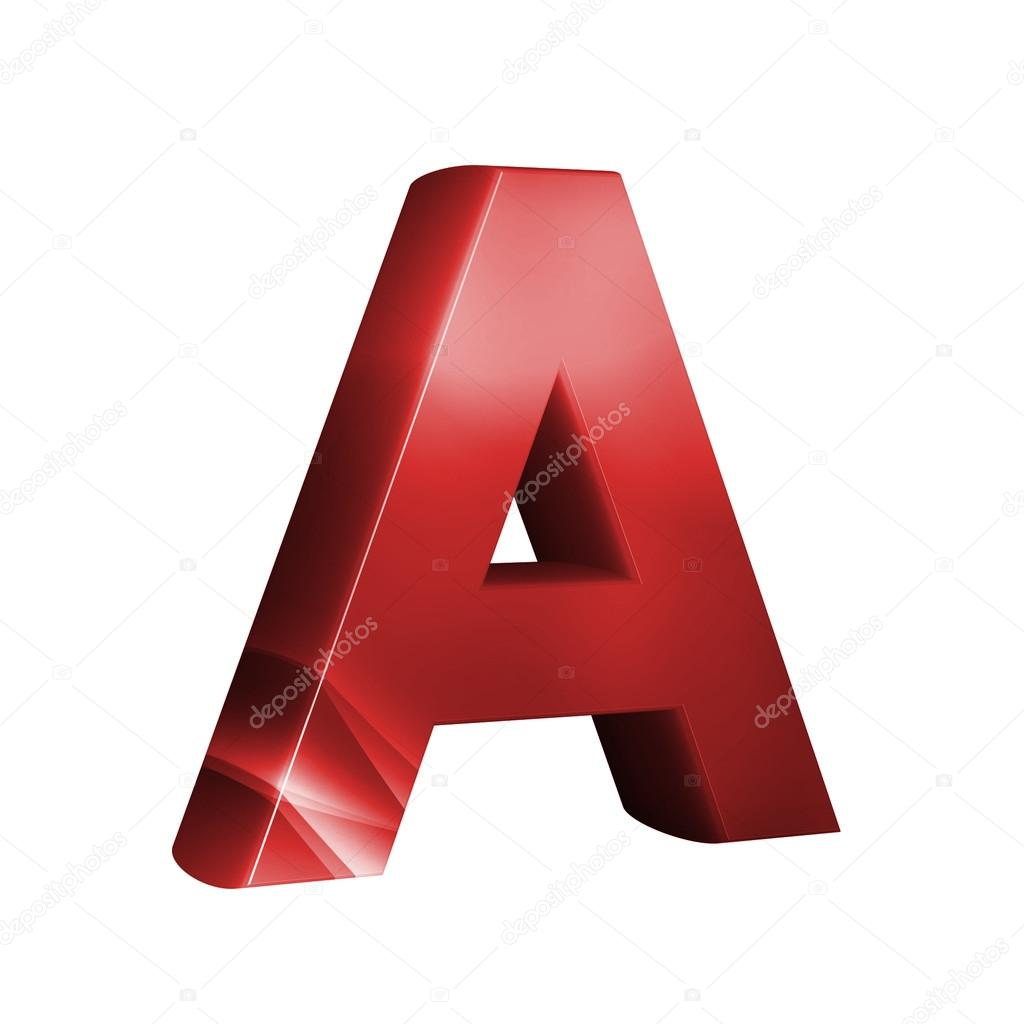 beautiful red 3d font letter a � stock photo 169 froemic