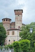 Molare (Alessandria), castle — Stock Photo