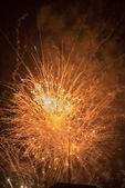 Vuurwerk in rapallo — Stockfoto