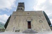 Duomo of Barga — Stock Photo