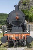 Old locomotive in Tuscany — Stock Photo