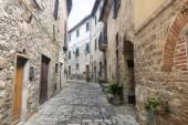 Montefioralle (Chianti, Tuscany) — Stock Photo