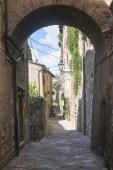 Colle di val d'elsa (toskánsko) — Stock fotografie
