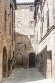 Buonconvento (Tuscany, Italy) — Stock Photo