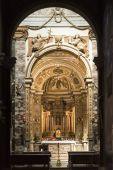 Rieti (Italy), cathedral interior — Stock Photo