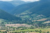 Forca Canapine (Umbria) — Stockfoto