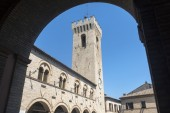 Montelupone (Marches, Italy) — Stock Photo