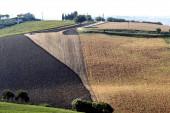 Marchas (Itália): paisagem de verão — Fotografia Stock