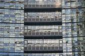 Milan, modern building — Foto de Stock