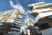 Modern residential buildings in Milan — Stock Photo