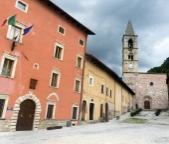 レオネッサ (リエーティ、イタリア) — ストック写真