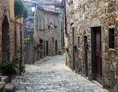 Montefioralle (Chianti, Tuscany) — Fotografia Stock