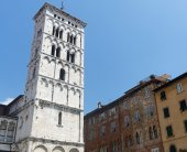 Lucca (Tuscany, Italy) — Stock Photo