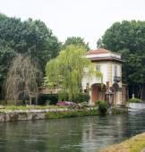 Robecco sul Naviglio, Milan — Foto de Stock
