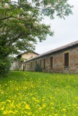 Historic house on Naviglio Grande, Milan — Stock Photo