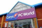 Currys Pc World Superstore — Stock Photo