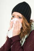 Sick woman — Stock Photo