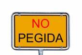 No Pegida — Stock Photo