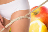 Thigh circumference — Stock Photo