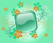 Button background for design — Stock Vector