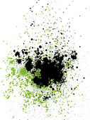 Blots and ink splashes — Stock Vector