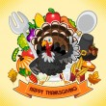 Happy Thanksgiving Turkey — Stock Vector #56539371