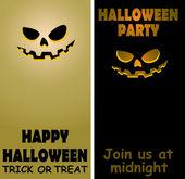 Halloween card03 — Vetorial Stock