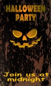 Halloween card06 — Vetor de Stock