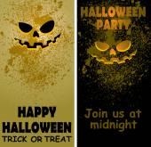 Halloween card04 — Vetorial Stock
