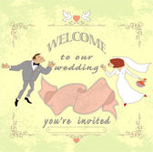 Wedding invited02 — Vecteur