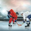 Ice hockey players on the ice — Stock Photo #54462851