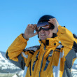 Man in goggles and helmet — Stock Photo #54463669