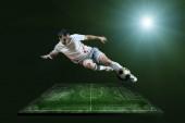 Spieler in aktion — Stockfoto