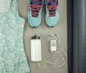 Beautiful sport set for running. — Stock Photo