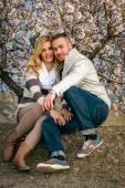 Beau jeune couple — Photo