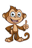 Cheeky Monkey Character — Stock Vector