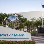 Port of Miami, Florida, USA — Stock Photo #53949843