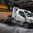 New Opel Movano tow truck at the 65th IAA Commercial Vehicles 2014 in Hannover, Germany — Stock Photo #54247763