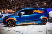 Ford Transit Hot Wheels Concept at the 65th IAA Commercial Vehicles 2014 in Hannover, Germany — Stock Photo