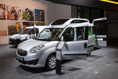 Opel Combo Wheelchair transport at the 65th IAA Commercial Vehicles 2014 in Hannover, Germany — Foto Stock