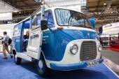 Historic Ford Taunus Transit Van from 1960s at the 65th IAA Commercial Vehicles fair 2014 in Hannover, Germany — Stock Photo