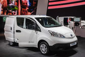 NISSAN e-NV200 Electric Chassis at the 65th IAA Commercial Vehicles Fair 2014 in Hannover — Stock Photo