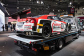NISSAN GT3 Race Car at the 65th IAA Commercial Vehicles Fair 2014 in Hannover — Zdjęcie stockowe